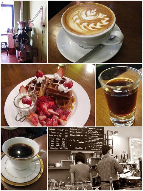 [高雄]冬季限定繽紛季節莓果鬆餅-三訪草圖自家烘焙咖啡館 @美食好芃友