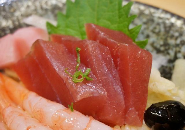 [高雄]好吃甜美干貝甜蝦丼!大碗生魚丼飯好選擇-漁饗日式料理 @美食好芃友