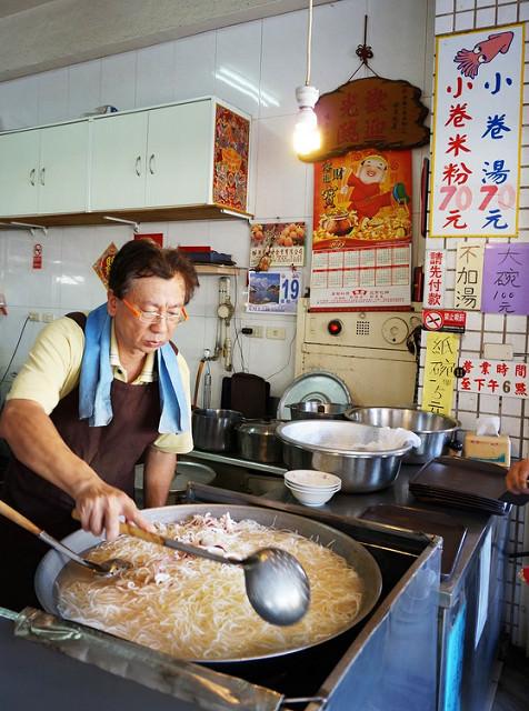 [台南]吮味難忘小吃二連發-矮仔成蝦仁飯X邱家小卷米粉 @美食好芃友